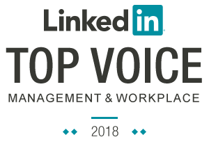Linkedin Top Voice - 2018 Workplace and Management