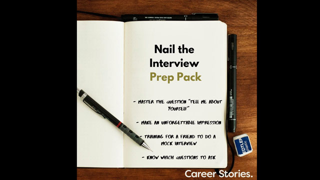 nail the interview prep pack kerri twigg