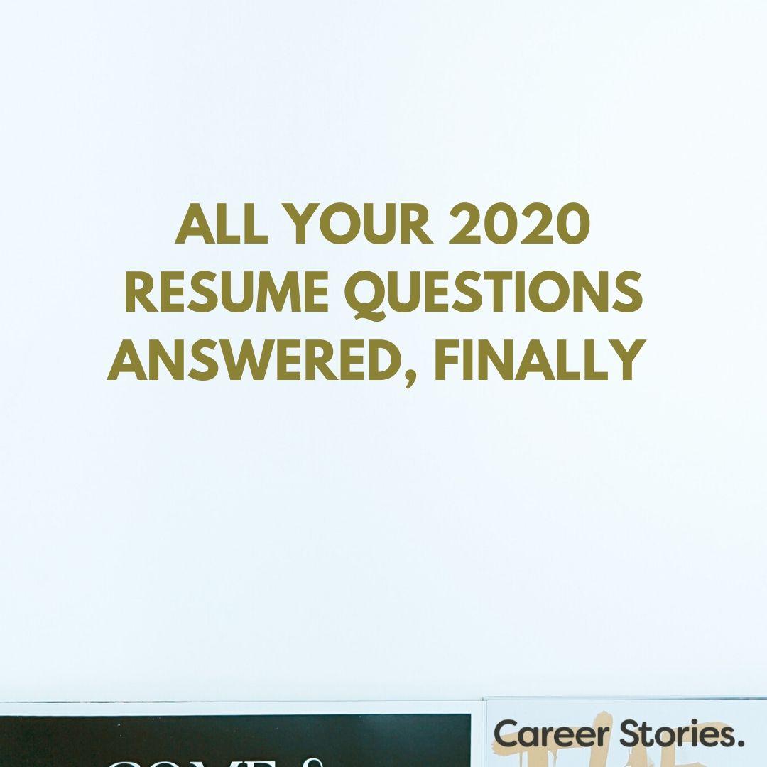 resume skills 2020 covid 19 resumes