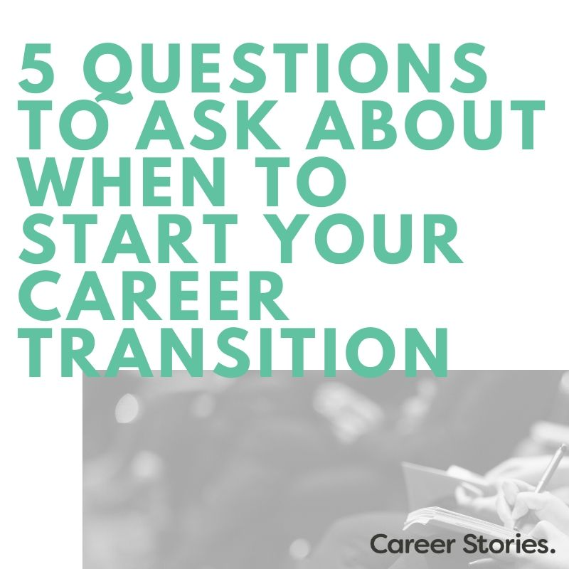 career transition timing kerri twigg