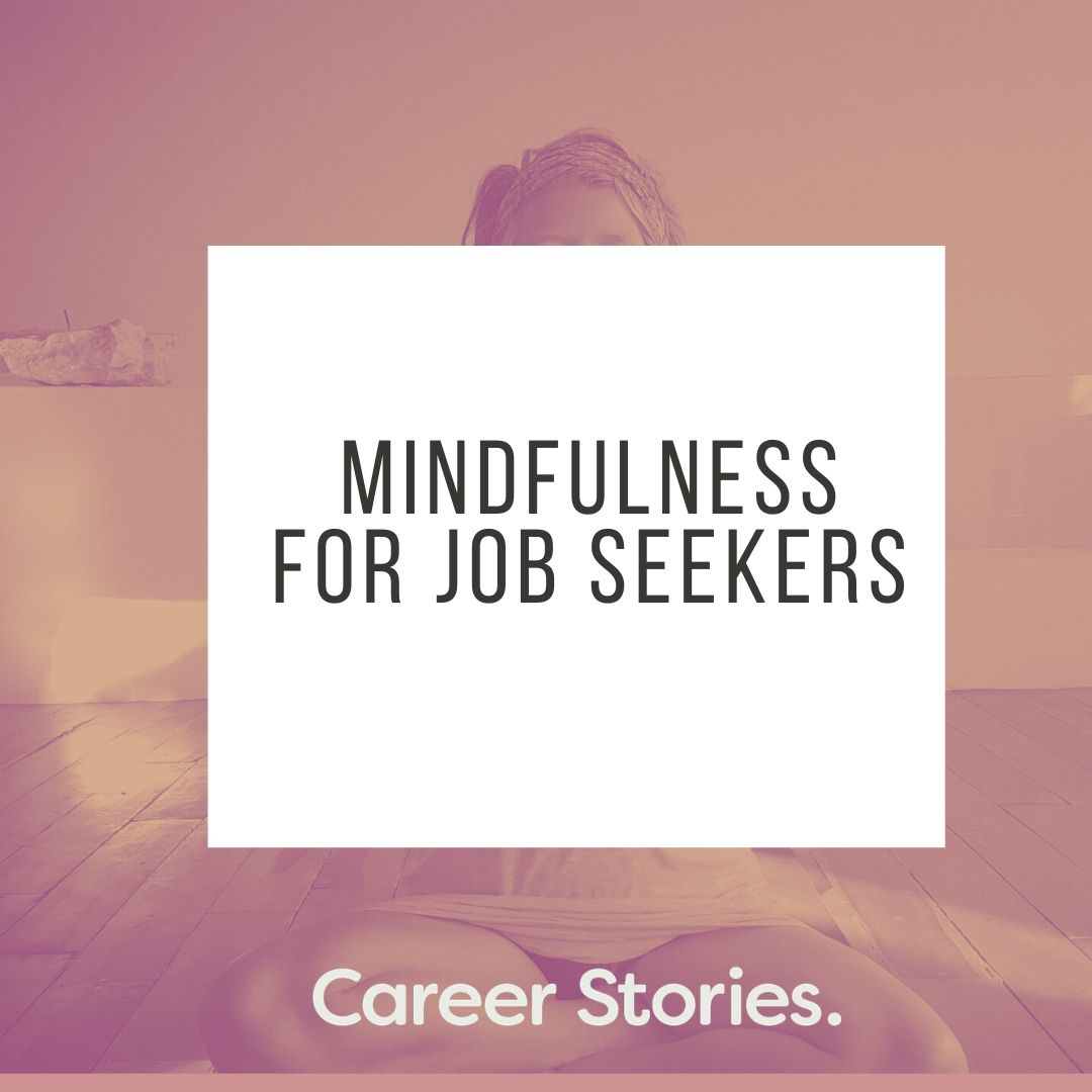 Meditation for job seekers